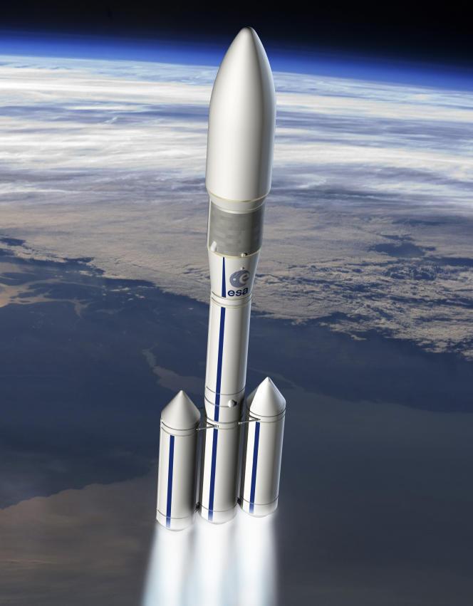 Image de synthèse de la future Ariane 6, qui devrait être mise en service en 2020.
