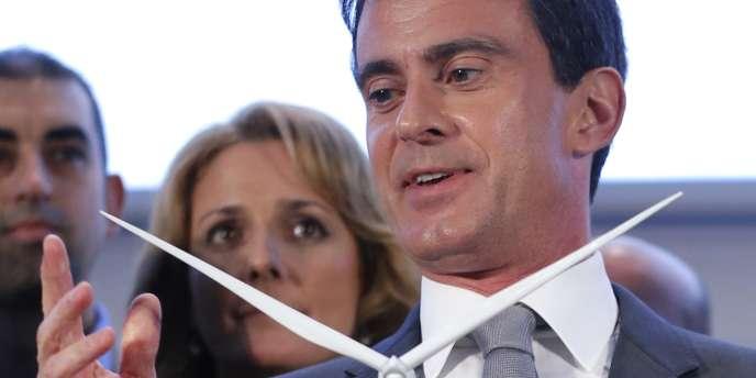 Le premier ministre a vanté les avantages de l'énergie hydrolienne lors d'une visite à Alstom Saint-Nazaire.
