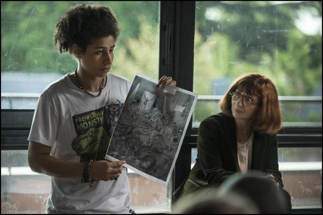 Ariane Ascaride dans le film français de Marie-Castille Mention-Schaar,