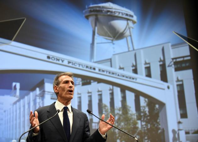 Le président de Sony Pictures Entertainment, Michael Lynton, le 18 novembre.