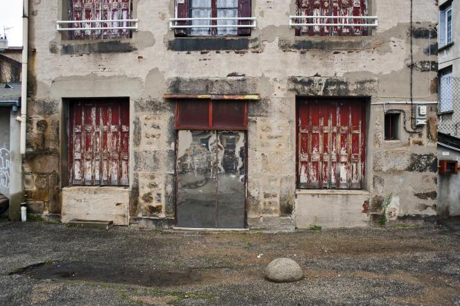 Quartier Beaubrun, à Saint-Etienne.