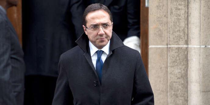 Faouzi Lamdaoui, le 9 mai 2012 à Paris.