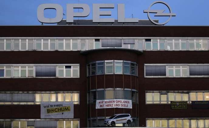 Usine Opel de Bochum, en Rhénanie-du-Nord-Westphalie, le 25 novembre.