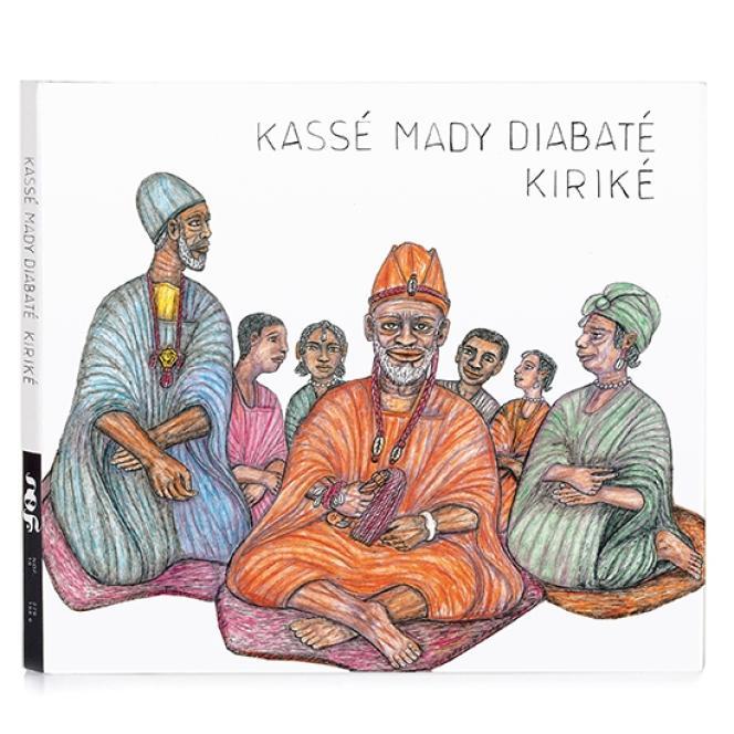 Pochette de l'album de Kassé Mady Diabaté,