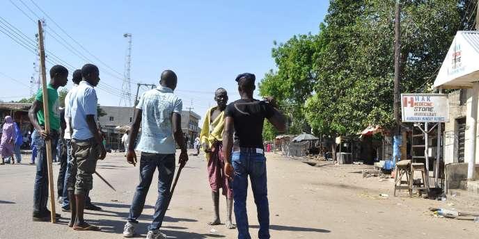 Après un attentat sur un marché à Maiduguri, au Nigeria, le 1erdécembre.