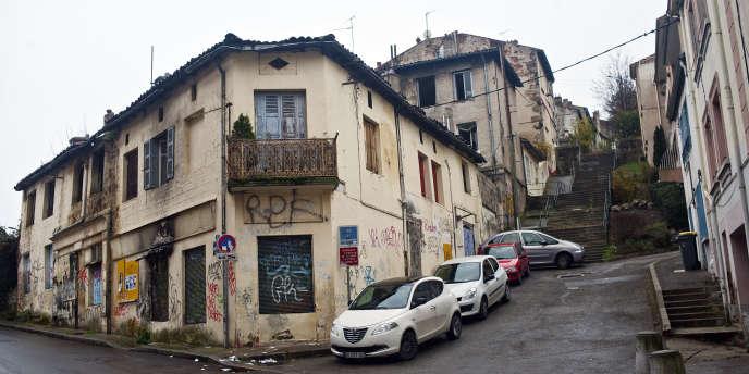 Dans le quartier de Beaubrun, à Saint-Etienne.
