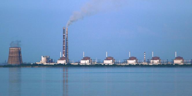 La centrale nucléaire de Zaporizhye.
