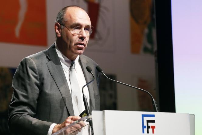 Gilbert Ysern, directeur général de la Fédération française de tennis (FFT).