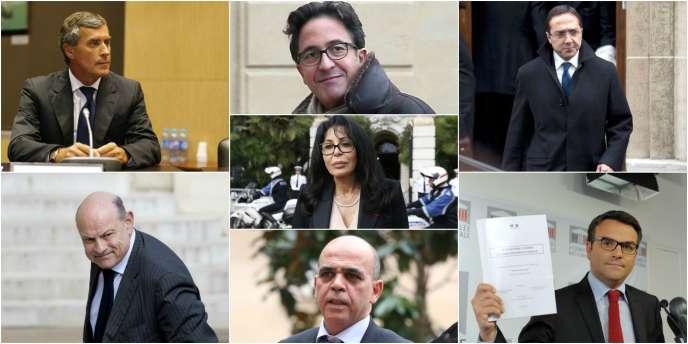 Jérôme Cahuzac, Aquilino Morelle, Faouzi Lamdaoui, Jean-Marie Le Guen, Yamina Benguigui, Kader Arif et Thomas Thévenoud.