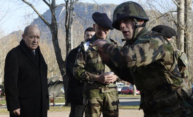C'est à Varces que le ministre de la défense avait découvert l'ampleur du problème lié au logiciel de paie Louvois.