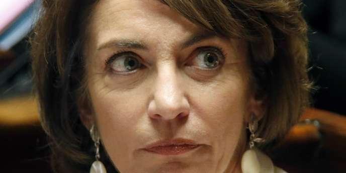 La ministre de la santé, Marisol Touraine, en novembre à l'Assemblée.