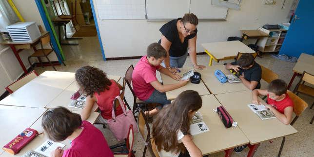 Dans une école à Vitrolles, en 2012.