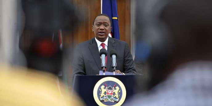 Le président kényan Uhuru Kenyatta à Nairobi, le 2 décembre.