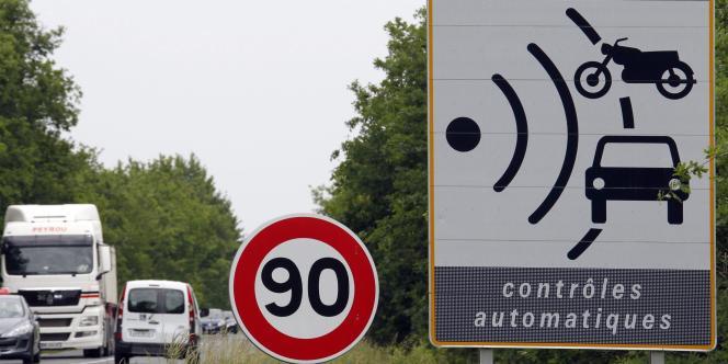 L'abaissement de 90 à 80 km/h sur le réseau secondaire sera expérimenté en 2015.
