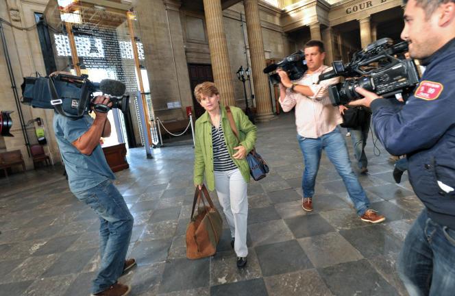Claire Thibout, au tribunal de Bordeaux, en 2011.