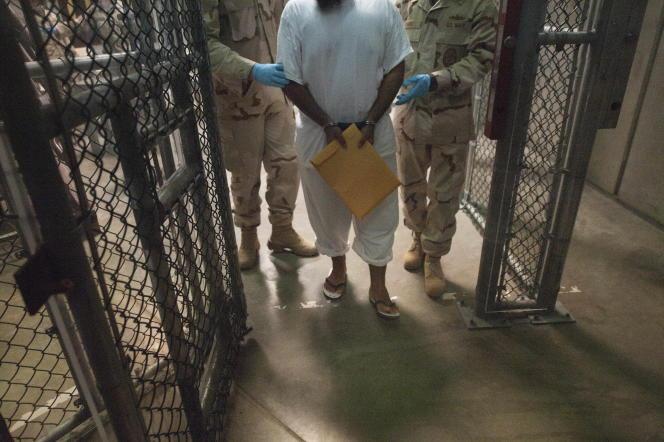 Détenu à Guantanamo, prison américaine située sur l'île de Cuba, en mars 2010.