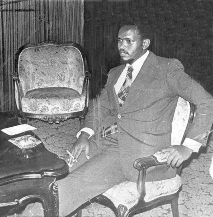 Steve Biko en 1977.