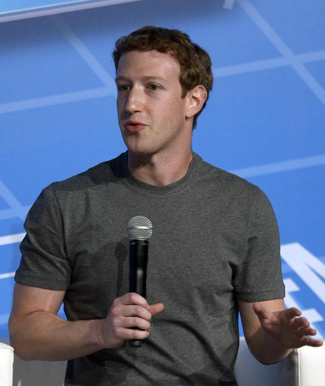 Zuckerberg au Mobile World Congress à Barcelone (Espagne), le 24 février.