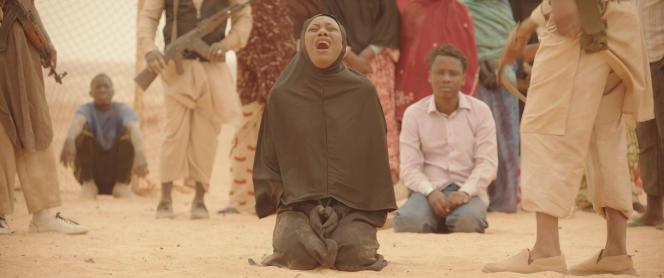 L'actrice et chanteuse Fatoumata Diawara dans