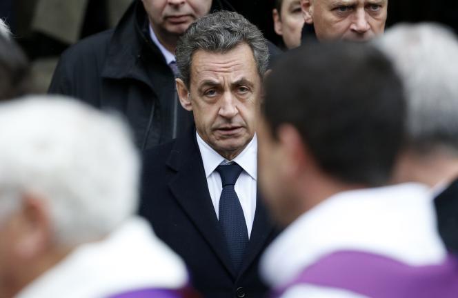 Nicolas Sarkozy à Paris en décembre 2014.