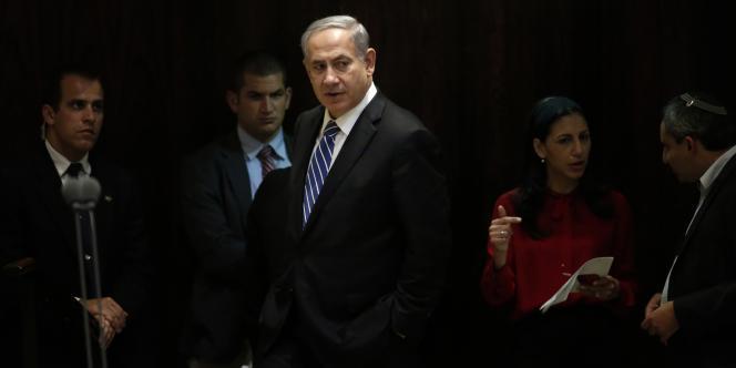 Le premier ministre Benyamin Nétanyahou à la Knesset, le 8 décembre.