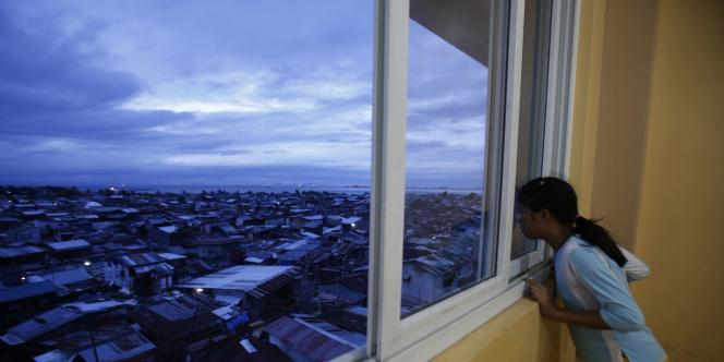 A Manille, le 8 décembre.