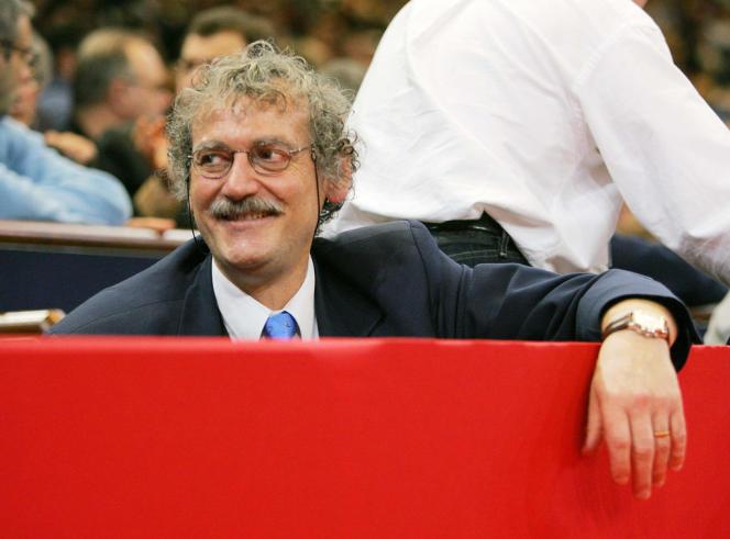 Le président de la Fédération française de judo, Jean-Luc Rougé, au Tournoi de Paris en 2012.