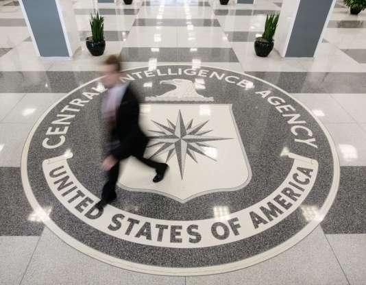 Le hall du siège de la CIA, en Virginie, en 2008.