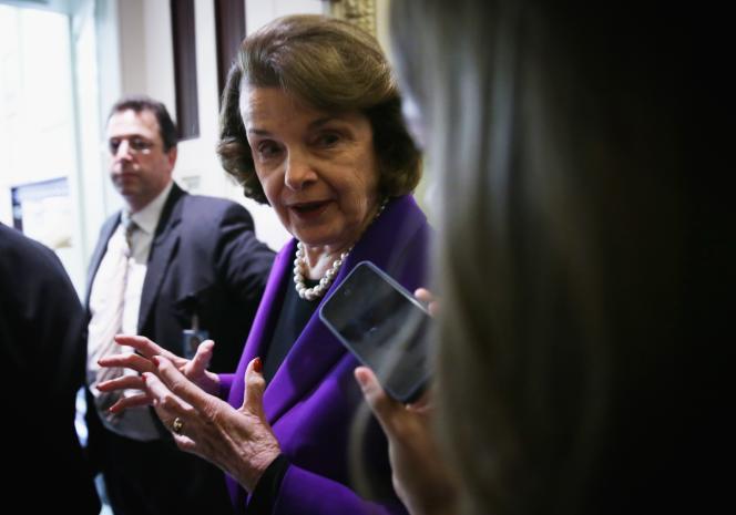 Dianne Feinstein, le 9 décembre au Capitole.