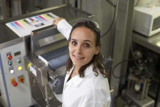 Etudiante de l'école d'ingénieurs Grenoble INP.