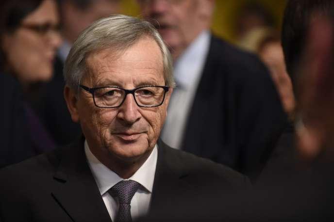 Jean-Claude Juncker, président de la Commission européenne, le 10 décembre.