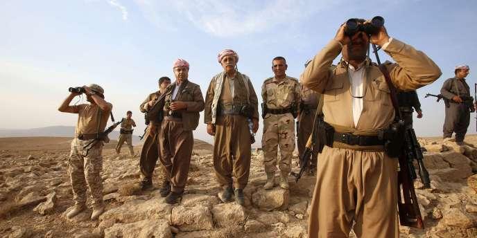 Les peshmergas ont notamment subi de lourdes pertes à Jalawla, une ville à la frontière iranienne qui a changé de mains plusieurs fois.