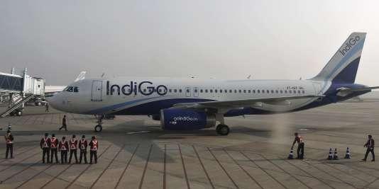IndiGo Airlines a commandé 250 A320neo. Jamais Airbus n'avait enregistré une commande d'appareils aussi élevée.