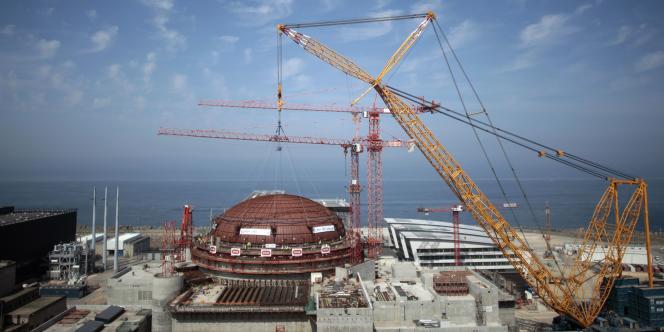Le réacteur de Flamanville, en juillet 2013.
