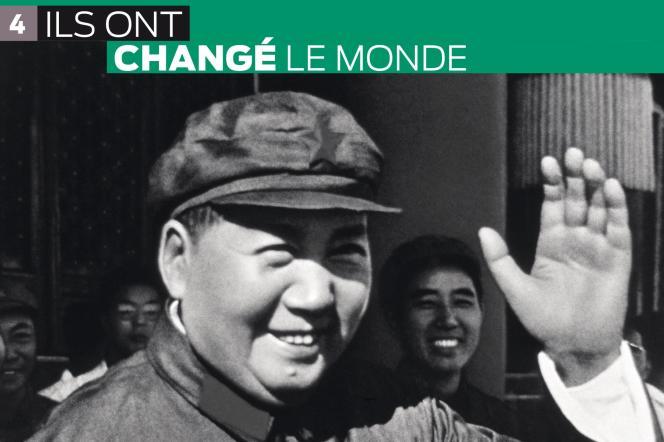 Le quatrième volume de la collection « Ils ont changé le monde » est consacré à Mao.