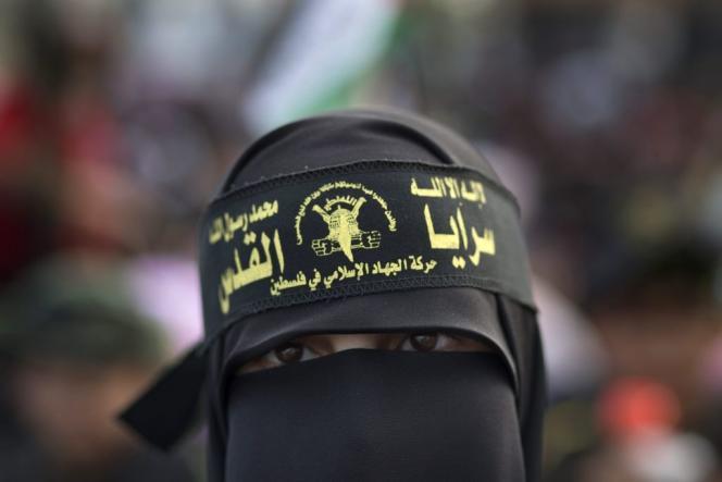 Djihadiste à Gaza, le 4 octobre 2014.