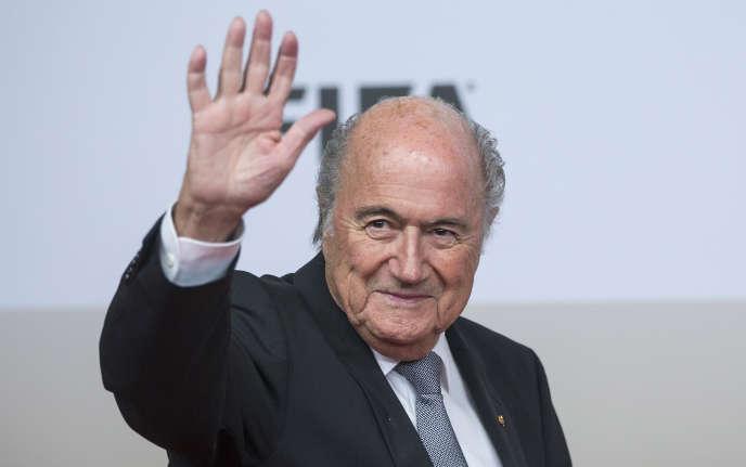 Le président de la FIFA, Joseph Blatter à Berlin le 10 novembre.