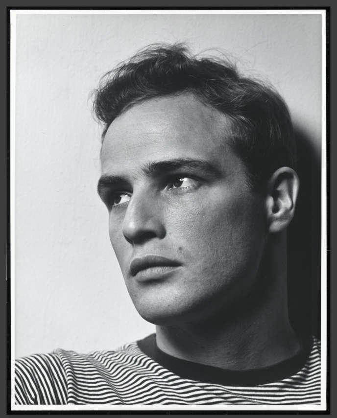 Marlon Brando, en 1950, à l'aube de la célébrité.