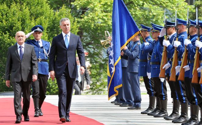 Le premier ministre du Monténégro, Milo Djukanovic, le 3 juin 2014 à Sarajevo, en Bosnie.