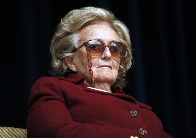 L'ancienne première dame, Bernadette Chirac, le 24 mai 2013 à Paris.