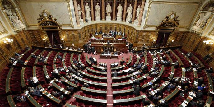Le Sénat, en décembre 2014.