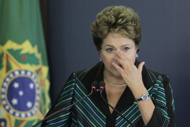 Dilma Rousseff en décembre 2014.