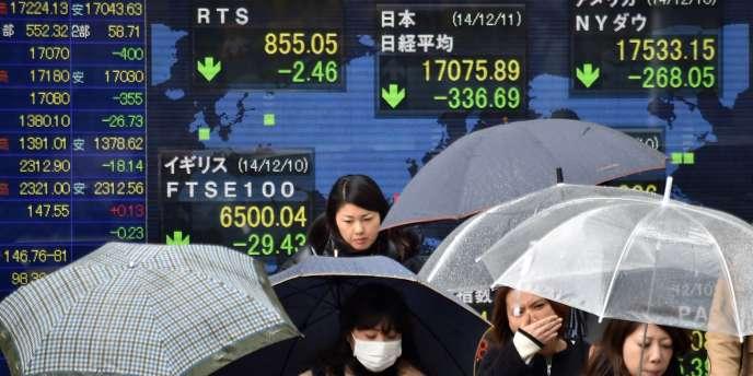 D'Athènes à Moscou en passant par les bourses asiatiques et du Moyen-Orient, les marchés sont en proie à un sévère coup de tabac.