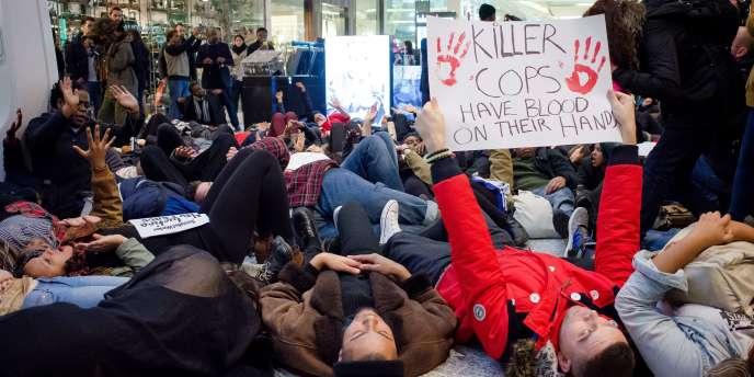 Des manifestants lors d'un