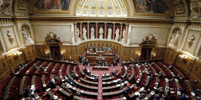 Vue du Sénat français. (AP Photo/Francois Mori)