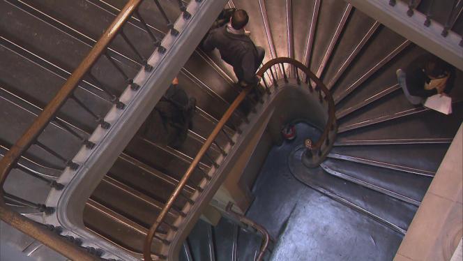 Le célèbre escalier du