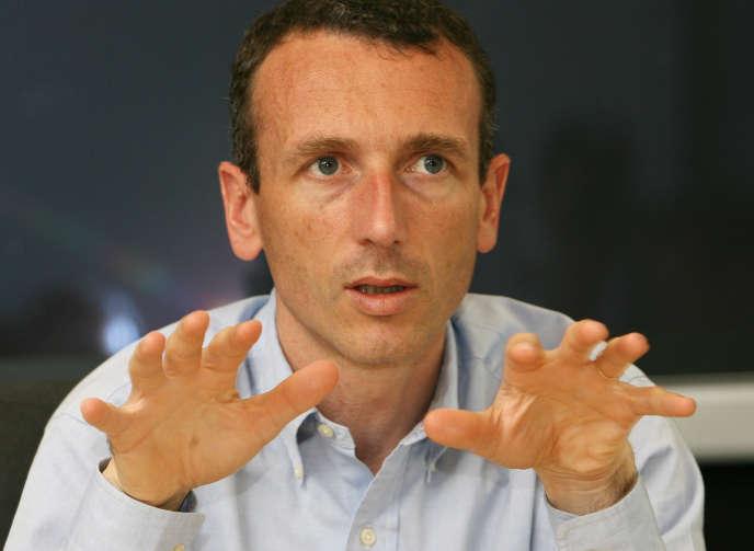 Emmanuel Faber en juin 2007.