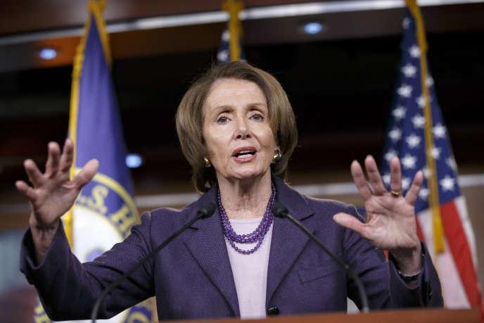 La chef de file démocrate, Nancy Pelosi, le 5 décembre 2014 à Washington.
