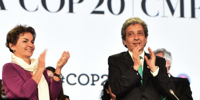 Le président du sommet, le ministre péruvien de l'environnement, Manuel Pulgar, le 14 décembre.
