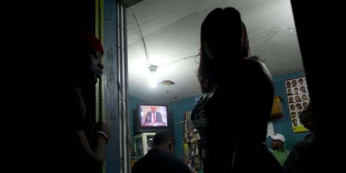 Le président Michel Martelly avait annoncé la démission de son premier ministre, un fidèle, dès vendredi 12 décembre dans une allocution télévisée, après des semaines de manifestations.